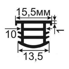 АЛ-09-15 Заглушка в технологический паз алюминиевых окон