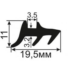 АЛ-ТПУ-008 Уплотнитель для герметизации стеклопакетов алюминиевых окон