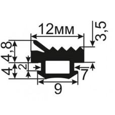АЛ-ТПУ-6001 Уплотнитель для алюминиевых окон ТАТПРОФ аналог ТПУ-6001