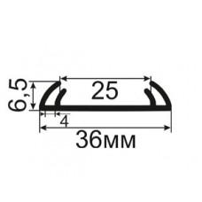 ЛФ-01-36 Лента фасадная для герметизации швов между фиброцементной плитой и профилем