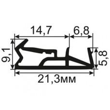 ОД-03-15 Пазовый уплотнитель для деревянных евроокон