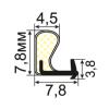 УК-07-08 Пазовый уплотнитель Q-Lon для притвора деревянных окон
