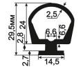 ДМ-02-24 Уплотнитель для металлических ворот