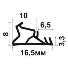 ОД-12-10 Уплотнитель для деревянных окон со стеклопакетом ииеющих паз 3мм