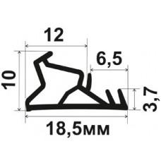 ОД-12-12 Уплотнитель для деревянных окон со стеклопакетом в паз 3мм