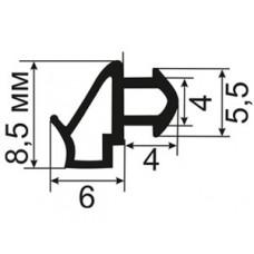 ОП-09-229 Уплотнитель резиновый для пластиковых окон аналог KBE - 229