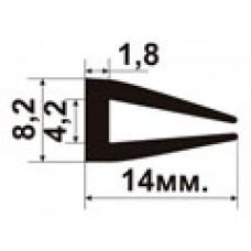 Мы начали производство нового П-образного уплотнителя для стекол УС-01-04
