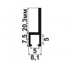Профиль крепежный 180 град. (5x5)