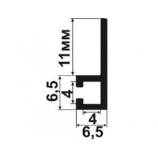 Профиль крепежный для щеточных уплотнителей 90 град. (4x4)