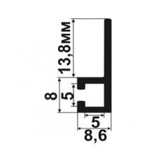 Профиль крепежный 90 град. (5x5)