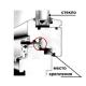 ОД-03-10D Резиновый (TPE) уплотнитель для евробруса с пазом 4мм