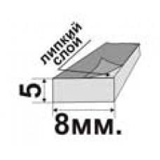Уплотнитель пористый самоклеющийся (ппэ) 5x8мм. (цена за 1п.м.)