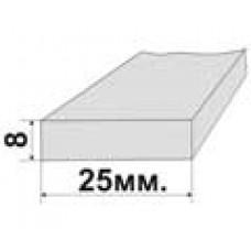 Утеплитель окон сечение 8х25мм. (в комплекте 7,5м.)