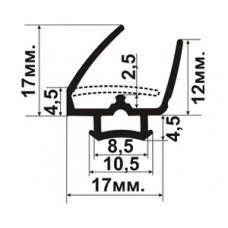 АЛ-01-17 Уплотнитель для алюминиевых систем