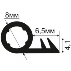 ОД-01-08 Уплотнитель (TPE) для деревянных окон и дверей в паз под 90 градусов